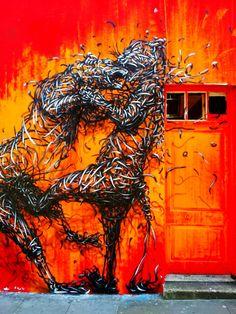 Fighting Tigers, DALeast, London
