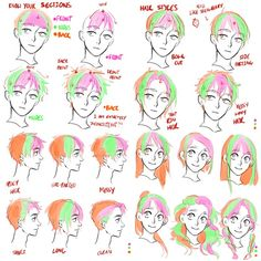hair hair reference EtheringtonBrothers on Drawing Tutorials, Drawing Techniques, Drawing Tips, Art Tutorials, Drawing Sketches, Art Drawings, Drawing Hair Tutorial, Drawing Faces, Painting Tutorials