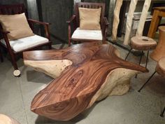 Rain Tree Coffee Table