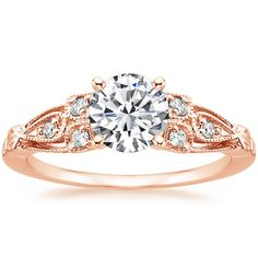 14K Rose Gold Rosabel Diamond Ring from Brilliant Earth LOVE, LOVE, LOVE THIS RING!!