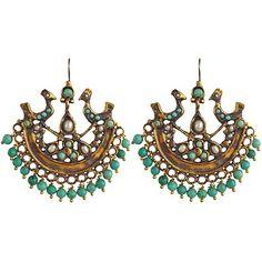 ...Turkish Bohemia Gypsy Earrings...