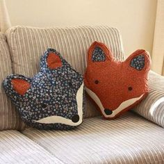 Fox pillows