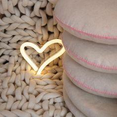 Tea Pea - Neon Poodle Shaped Neons - Little Bit of Love