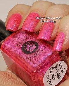 Bear Pawlish Wha'd Ya Expect Fairies To Do? swatches | Marias Nail Art and Polish Blog | Bloglovin