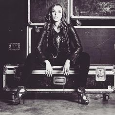 This woman is so inspiring! Love her! - Lzzy Hale of Halestorm @officiallzzyhale