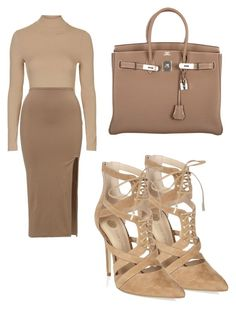 """""""N X D E"""" by elly-langhorn ❤ liked on Polyvore featuring Topshop and Hermès"""