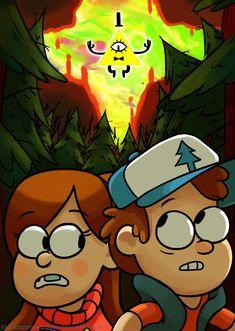 Gravity Falls by blacksapphiredragon.deviantart.com on @DeviantArt