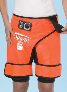 Sauna pants:  you know, so you can enjoy a refreshing sweat session by yourself.  at home.  on your couch.