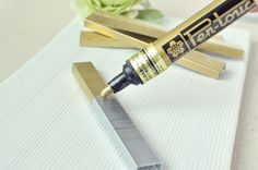 Use paint pen to color staples for instant glam project 7 Brilliant DIY Crafting Hacks