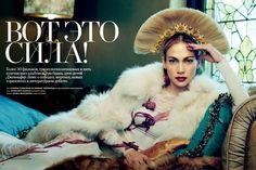 http://sandroka-eamigasnamoda.blogspot.com.br/: Jennifer Lopez para Harper's Bazaar Russia Dezembro 2014