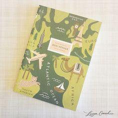 a pretty little travel journal