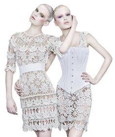 Uncinetto d'oro: Meraviglioso abito bianco!!!