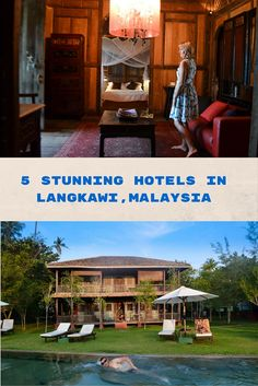 Five amazing hotels in Langkawi, Malaysia that you simply fall in love with.