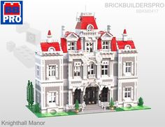 KnightHall Wayne Manor #legoarchitecture