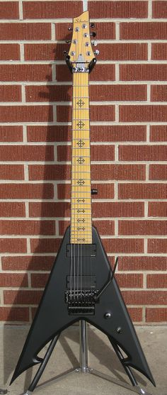 Schecter DIAMOND SERIES Jeff Loomis JLV-7FR Satin Black 7-String Electric Guitar