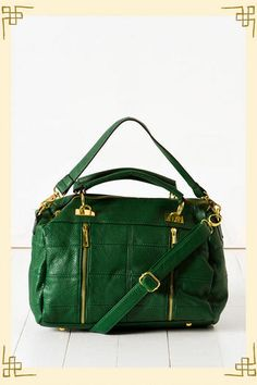 Going Green Bag from Francesca's Collection--I'm offically obsessed with this color!