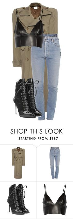 """""""Untitled #163"""" by be-marta ❤ liked on Polyvore featuring Vetements, Giuseppe Zanotti and T By Alexander Wang"""