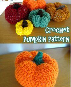 Crochet Pumpkin Pattern PINEREST