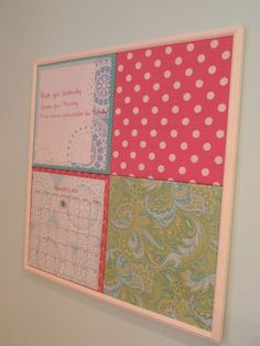 DIY by Design: DIY Gift Idea - Pottery Barn Teen Inspired Style Tile Board   Casual Crafter