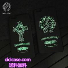 韓国芸能人G-Dragon愛用のブランド iphone6s 夜光 ケース クロムハーツ Chrome Hearts iphone7 plus 保護カバー 人気 アイフォン7 ハードケース