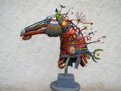 Atelier / expo sculpture et  assemblages Gérard Collas - I just found another sculptor I love love love