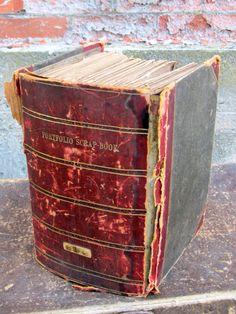 Antique Scrap Book