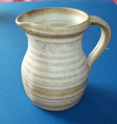 Studio Pottery Jug by Peter Crook