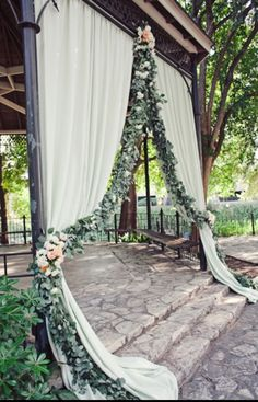 outside ceremony idea