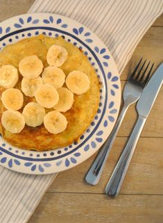 Gezonde bananenpannenkoekjes - Lekker en Simpel