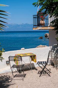 C'est dans le sud de la Grèce, dans le Péloponnèse plus exactement, que je vous convie aujourd'hui pour trouver un peu de soleil ... et pou...