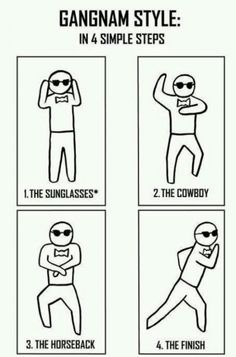 How To Dance Gangnam Style