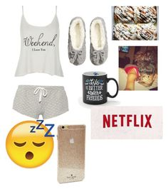 """Untitled #16"" by f-ashionloverxoxo on Polyvore featuring Wildfox, Eberjey, H&M and Kate Spade"