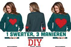 Zin om een sweater te pimpen maar ben je op zoek naar wat inspiratie? Kijk dan eens bij deze post!
