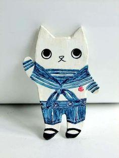 Sailor Hep Cat pin