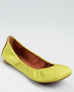 Chartreuse - like these flats....