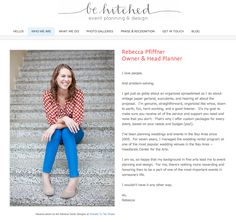 Client Websites and About Me Pages | Portraits To The People Blog