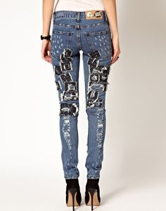 PATCHES ON JEANS - Buscar con Google