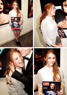 Holland Roden attends the premiere of Historical Fiction