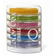 Set 6 encreurs de couleur - Colorbox
