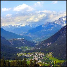 Briançon, Hautes Alpes, Région PACA, France  #alpes #alps #montagne #sky…