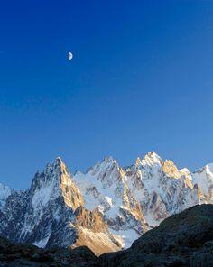 La Chaîne du Mont Blanc, Alpes, Haute-Savoie