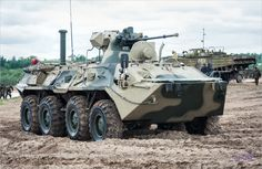 BTR-82 of Military Russian