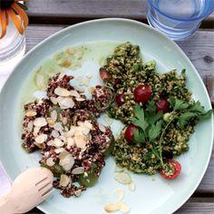 Rezept aus Grüner kochen: Reissalat mit Trauben und Feta
