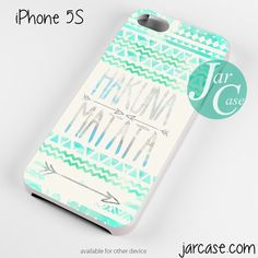 hakuna matata aztec arrow Phone case for iPhone 4/4s/5/5c/5s/6/6 plus