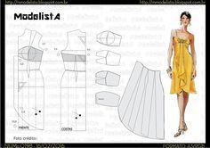 ModelistA: A3 NUMo 0198 DRESS