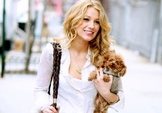 Blake Lively with the cutest dog