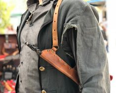#clothing #unisexadultclothing #costumes #wizardcosplay #leathergarter #wandholster #shoulderholster #witchwand #witch #holster #aurorcosplay #harrypotter #magicwandholster #conceal #mage #sabrina