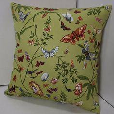 12x12 Butterfly Print Pillow Cover  Home by CreativeGirlsStudio