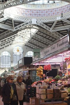 Mercado Central of Valencia. Great place to visit. More info in: http://insidevalencia.com/2015/02/09/293/  #valencia #valenciaspain