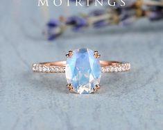 HANDMADE RINGS & BRIDAL SETS by MoissaniteRings on Etsy Vintage Engagement Rings, Vintage Rings, Bridal Ring Sets, Handmade Rings, Gold Rings, Trending Outfits, Unique Jewelry, Rose Gold, Gifts